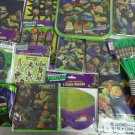 Teenage Mutant Ninja Turtles TMNT Party Supplies 143 pc Kit for 8 Deluxe Set