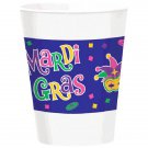 Mardi Gras Beads Party Supplies Celebration collection 16 oz Cups 25 ct Decor