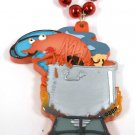 Crawfish Boil Pot Mardi Gras Necklace Beads Bead