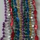 12 Assorted Style Mardi Gras Beads Party Favors