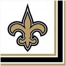 NFL New Orleans Saints Lunch Napkins 16 ct