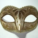 Brown Gold Child Small Teen Adult Venetian Mask Masquerade Party
