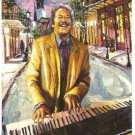 2009 40th New Orleans Jazz Festival Poster Post Card