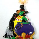 Witch Glow In Dark Halloween Mardi Gras Beads Bead Necklace Party Favors