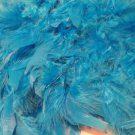 """Teal Chandelle Feather Boa 72"""" 6Ft 6 Ft Masquerade Costume Dress Up Bachelorette"""