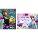 Disney Frozen Invitations 8 ct Thank yous 8 Ct Party Supplies Elsa Anna