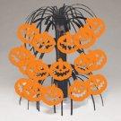 """Pumpkin Mini Cascade Centerpiece Party Supplies Halloween 8.5"""""""