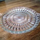 Jeannette Windsor Diamond Sandwich Tray with handles