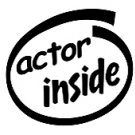 Actor Inside Decal Sticker