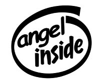 Angel Inside Decal Sticker