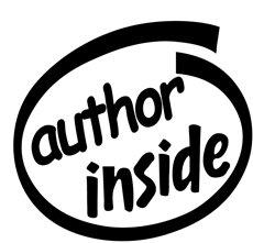 Author Inside Decal Sticker