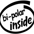 Bi-Polar Inside Decal Sticker bipolar