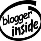 Blogger Inside Decal Sticker
