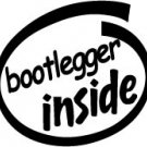 Bootlegger Inside Decal Sticker