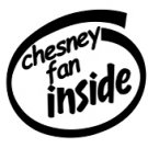 Chesney Fan Inside Decal Sticker kenny