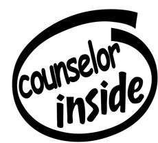 Counselor Inside Decal Sticker