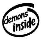 Demons Inside Decal Sticker