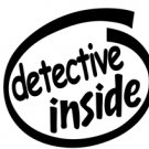 Detective Inside Decal Sticker