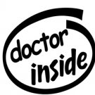 Doctor Inside Decal Sticker