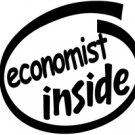 Economist Inside Decal Sticker