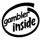Gambler Inside Decal Sticker