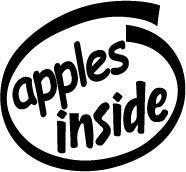 Apples Inside Decal Sticker