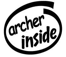 Archer Inside Decal Sticker
