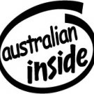 Australian Inside Decal Sticker