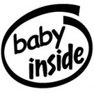 Baby Inside Decal Sticker