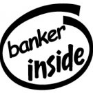 Banker Inside Decal Sticker