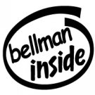 Bellman Inside Decal Sticker