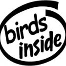 Birds Inside Decal Sticker