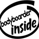 Bodyboarder Inside Decal Sticker