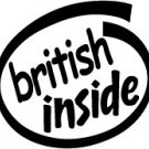 British Inside Decal Sticker