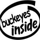 Buckeyes Inside Decal Sticker