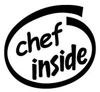 Chef Inside Decal Sticker