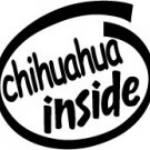 Chihuahua Inside Decal Sticker
