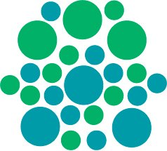 Set of 26 - TURQUOISE / GREEN CIRCLES Vinyl Wall Graphic Decals Stickers shapes polka dots