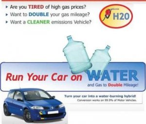 Run your car on water Hydrogen conversion ebook free shipping save gas