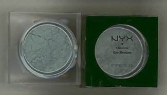 NYX CHROME EYESHADOW- COLOR HARDCORE