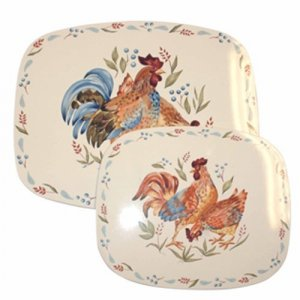Corelle Country Morning stove/counter/table matts (2) NEW