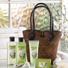 Tropical Lime & Coconut 6 piece Bath Set