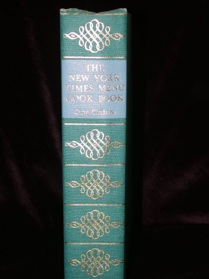 Claiborne - THE NEW YORK TIMES MENU COOK BOOK, 1966