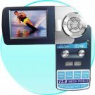 Palm Digital Video Camera - 2.5 Inch TFT LCD Rotating Screen
