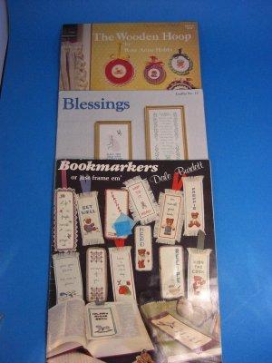 Cross Stitch  Dale Burdett Bookmarkers Bears