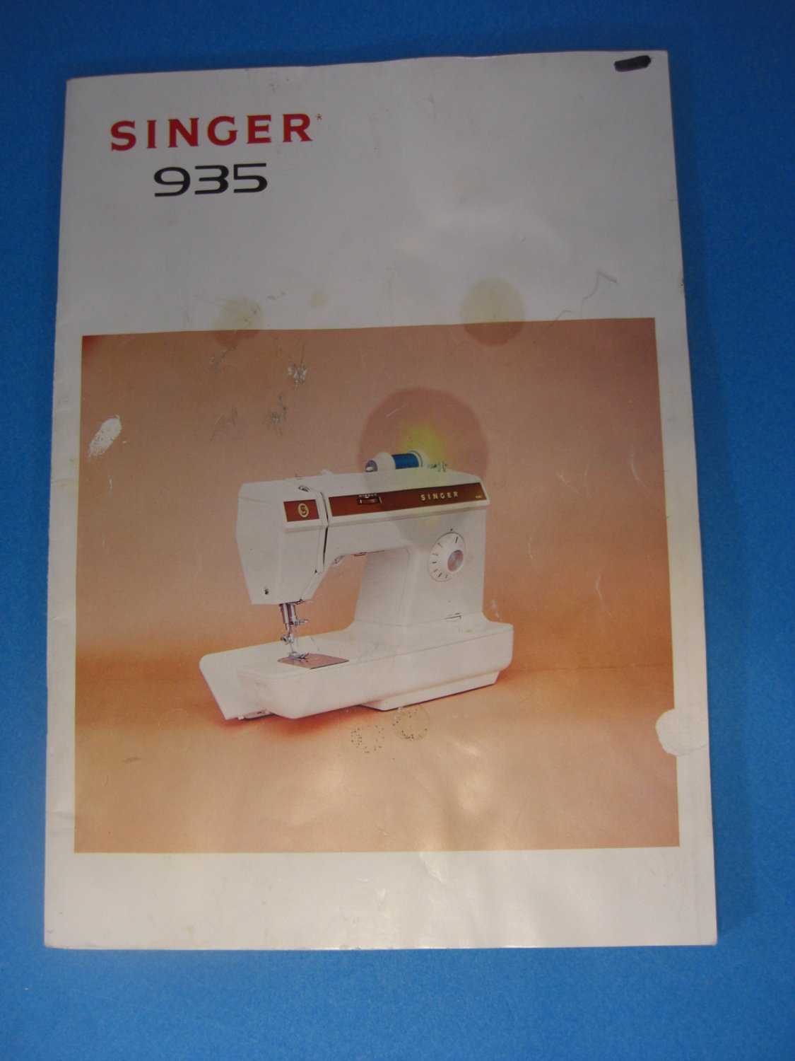 Singer Model 935 Instruction Manual