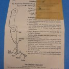 Singer Sewing Machine Touch & Sew Hook Needle Threader Replacement