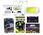 "Sony PSP ""Limited Edition"" Ceramic White ""Holiday Pack"" - 21 Games + PSP Car Kit"