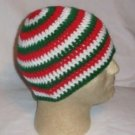 Hand Crochet ~ Men's Skull Cap Beanie Hat Italian Color B