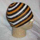 Hand Crochet ~ Sweet Steeler Beanies - F